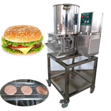 110mm Commercial Mini Chicken Burger Making Machine Hamburger Forming Machinery Burger Patty Making Machine for Restaurant Equipment