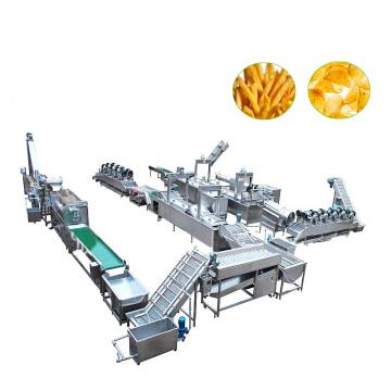 Automatic Dewatering French Fries Machine/Industrial Gas Frying Machine with Ce