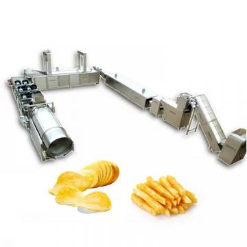 High Quality Full Automatic Fresh Frozen French Fries Frying Production Line Equipment Lays Potato Chips Making Machine Price