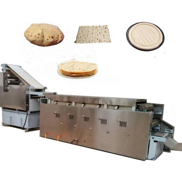 Commerical Arabic Pita Bread Tortilla Roti Machine for Bakery