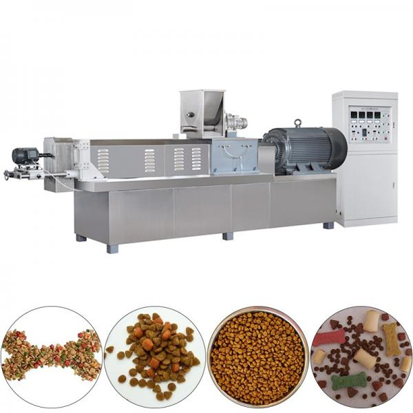 Dry Method Pet Dog Food Production Line Making Machine