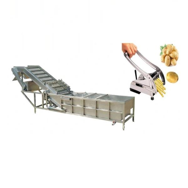 Dayi Extruded Wheat Flour Triangle Chips Frying Snacks Machine