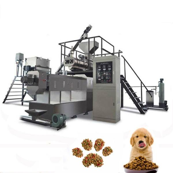 Cat food production line for making fish shape cat food