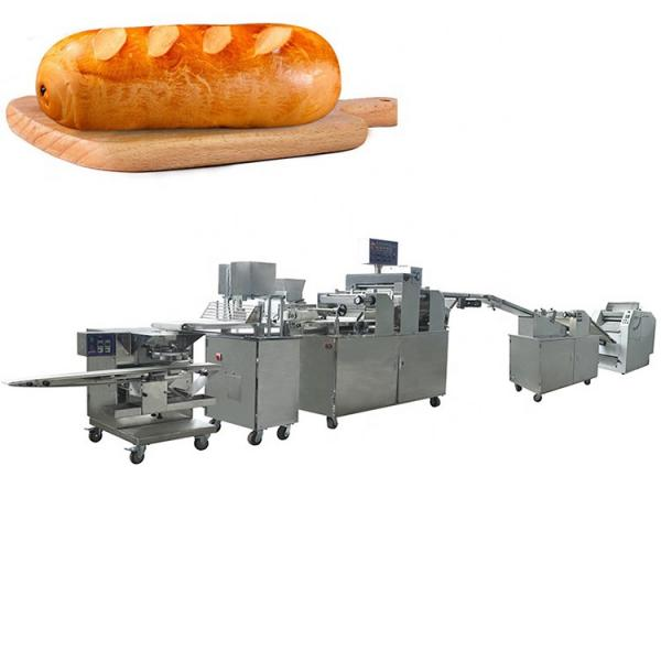 25x1.0x1.8m Size loaf bread crumbs making machine production line